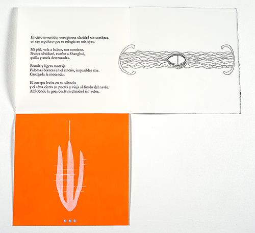 """Contra-Dia"" images by Brian Wood, poem by Ximena Godoy-Arcya"