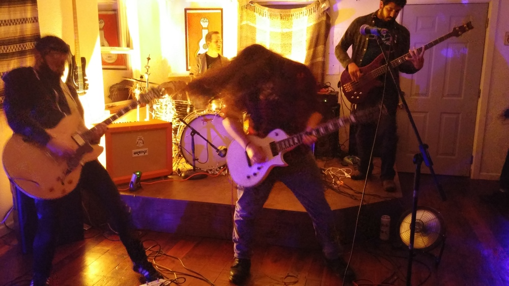 From our show at the Orchard House in Santa Rosa, taken by Jonathan Torres.