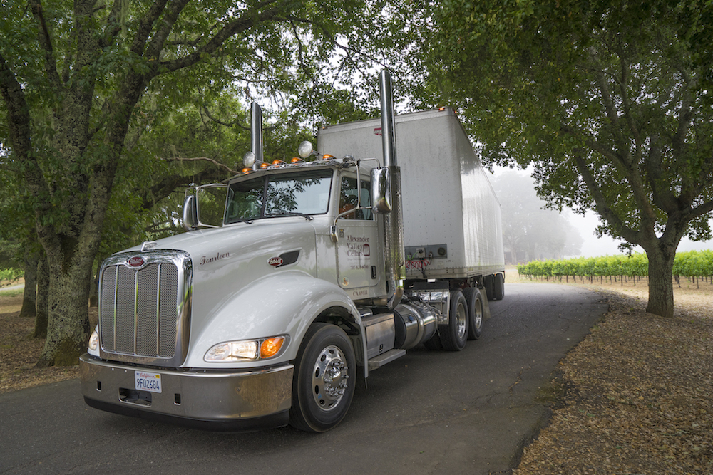 Trucking Services to Sonoma, Napa, Mendocino, Lake, and Marin Counties