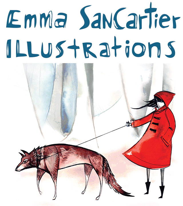 Emma SanCartier Illustration