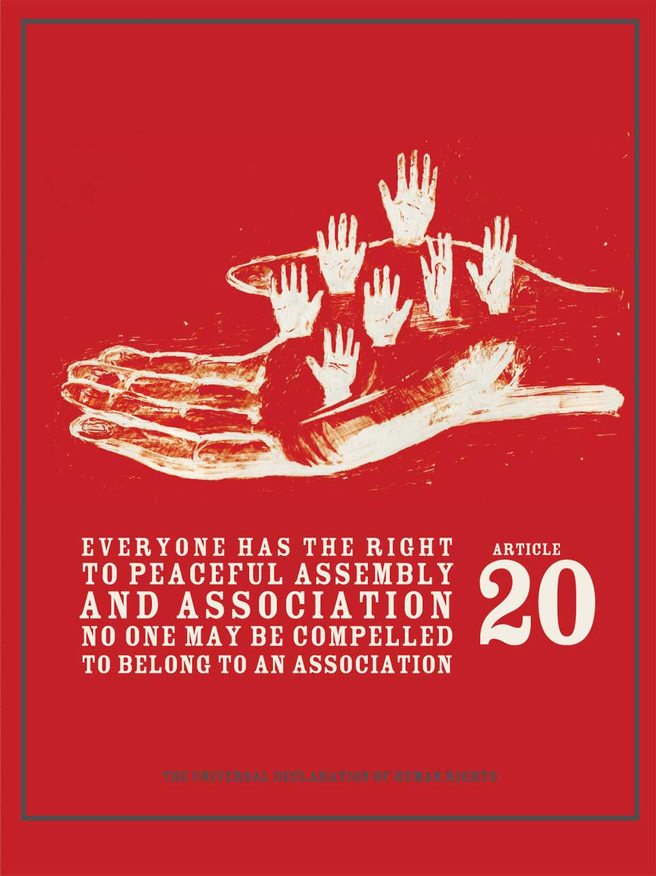 Declaration of Human Rights: Right to Peaceful Assembly