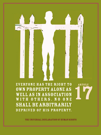 Declaration of Human Rights: Right to Own Property