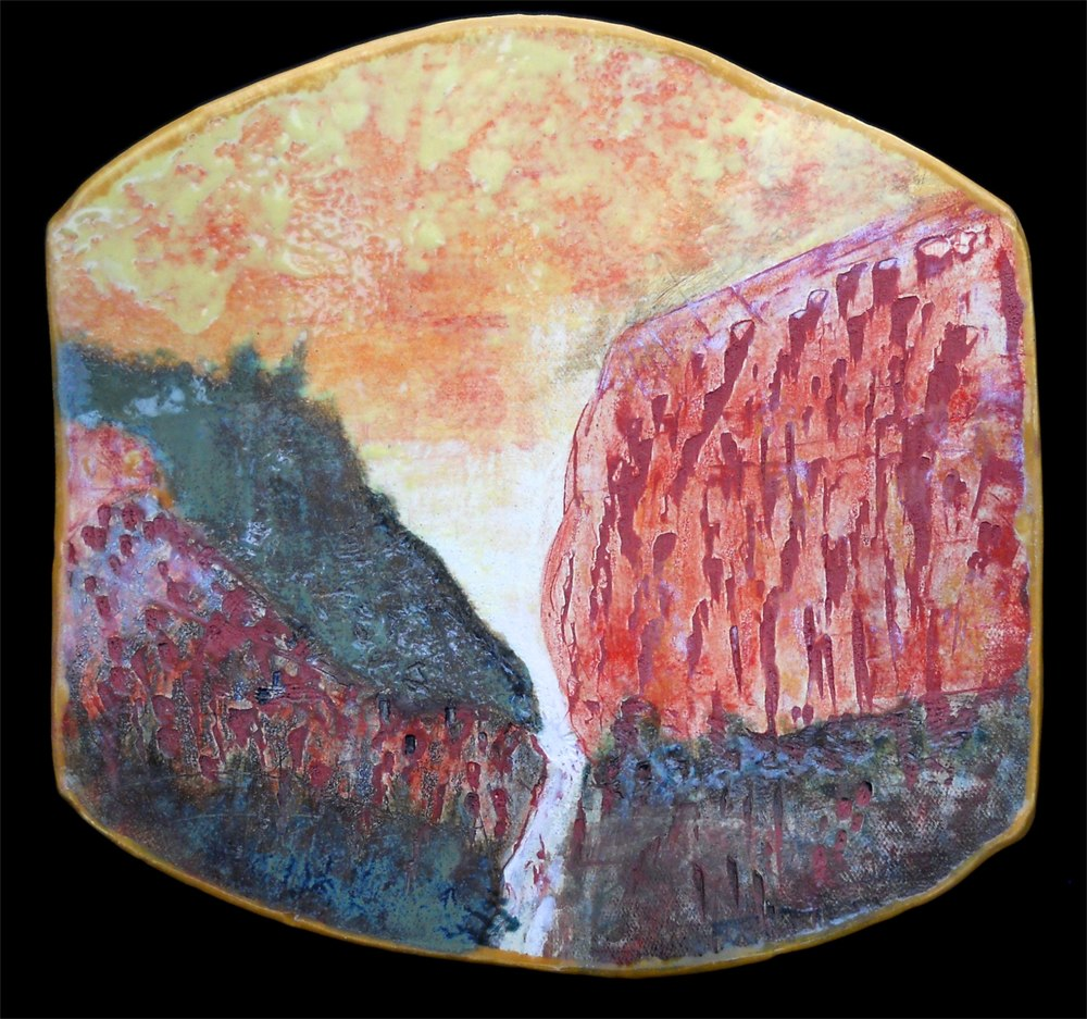 CALIFORNIA CANYON - WALL PIECE