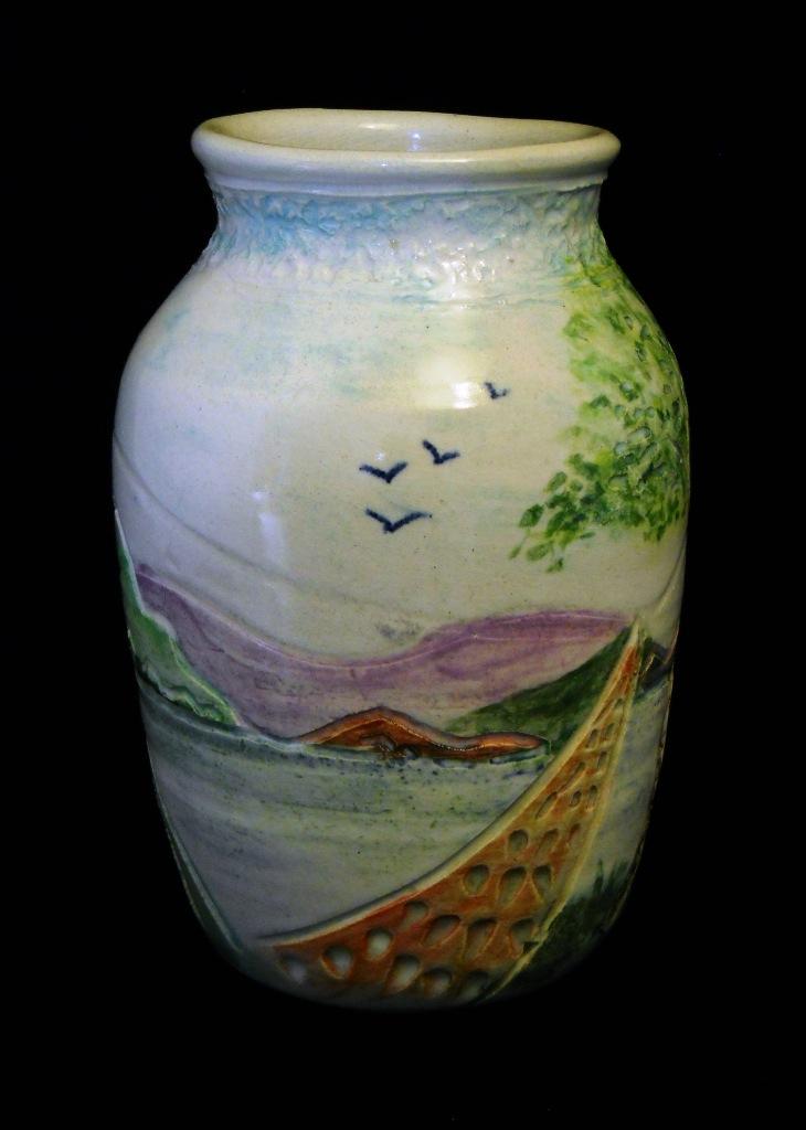 Landscape Vase - View 2