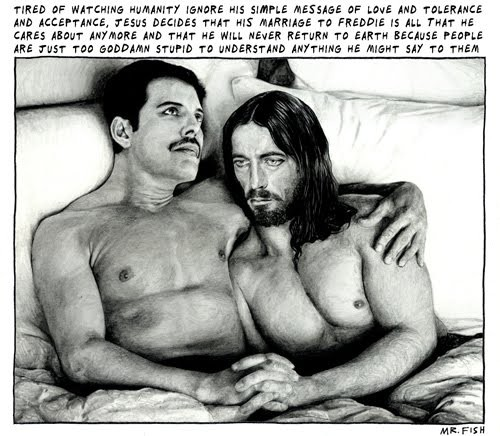 Freddie and Jesus Marriage Made in Heaven