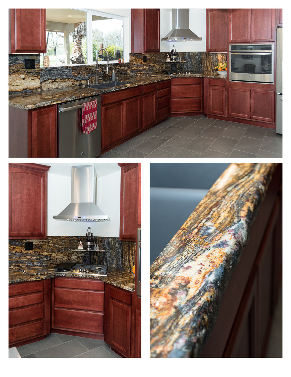If you want to make a bold statement, this is the granite for you! So stunning!!