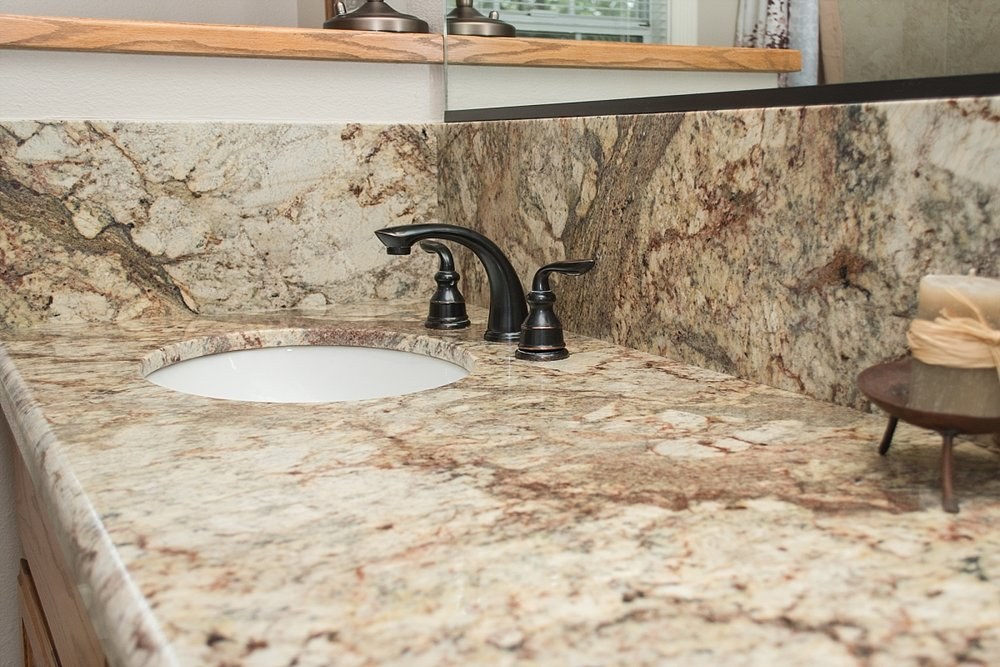 neutral granite bathroom vanity with beige tile shower_0048.jpg