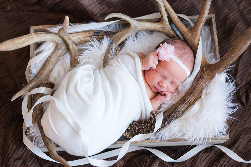 newborn princess on wedding dress and antlers_0075.jpg