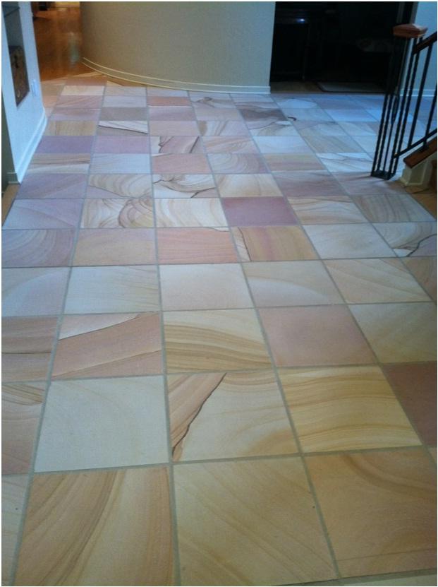Honed Sandstone Foyer
