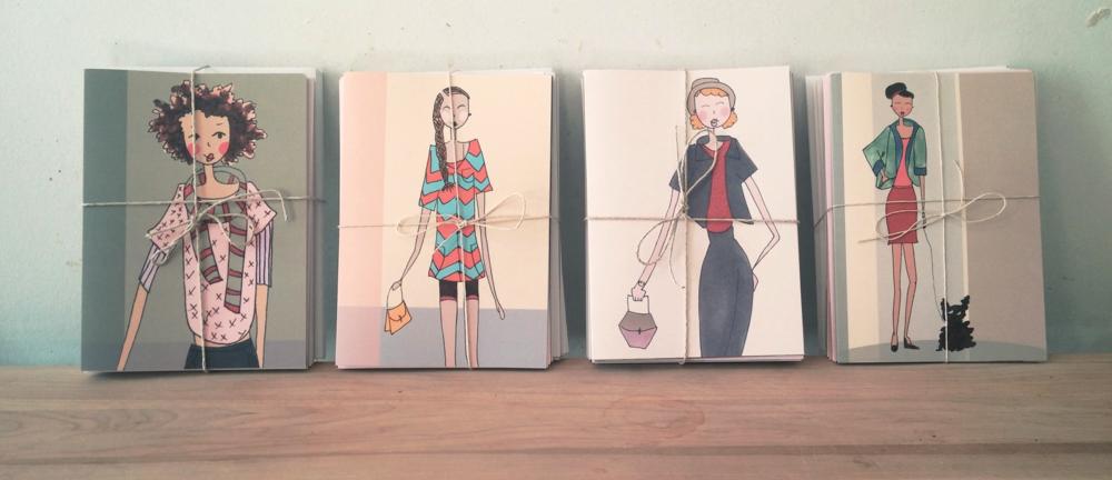fashion ladies card line
