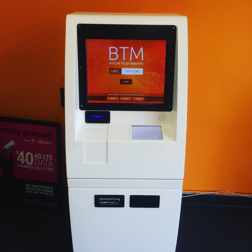 Coin Cloud Bitcoin ATM inside Wireless1 at 824 S Vermont Los Angeles