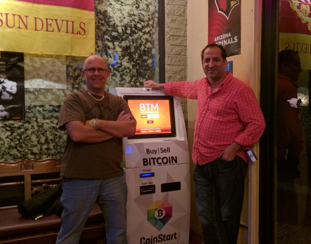Buy and sell bitcoin at Maya Pizza's Coin Cloud Bitcoin ATM