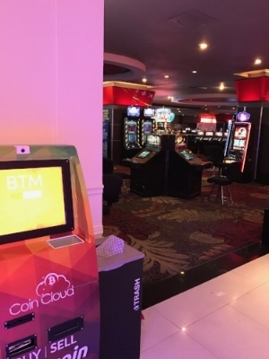 Coin Cloud ATM at the D Casino in Las Vegas