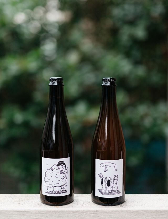 Illustrations for new bottle release for  AslanBrewingCo