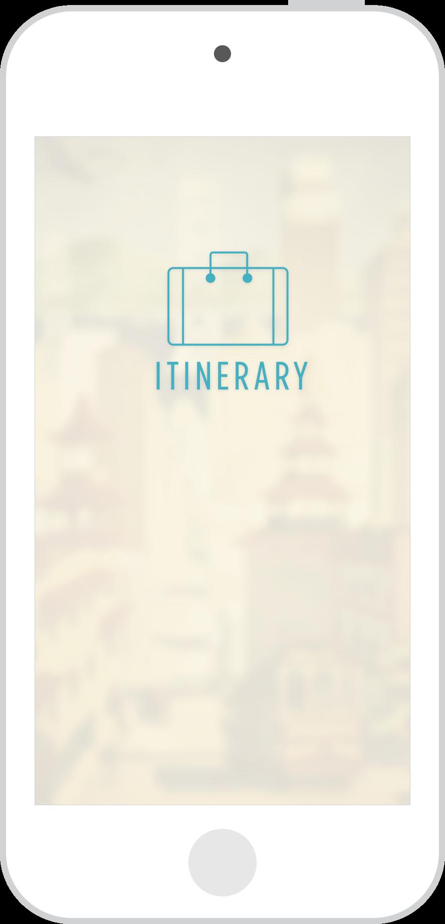 Itinerary- Splash