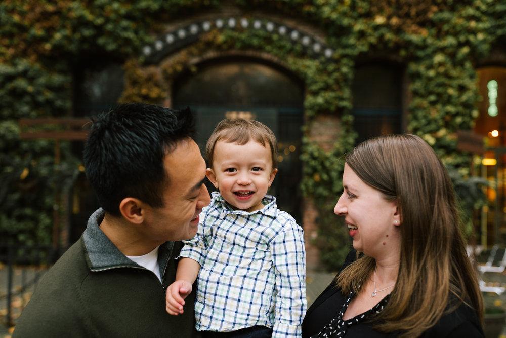 Huang Family | November 29, 2016