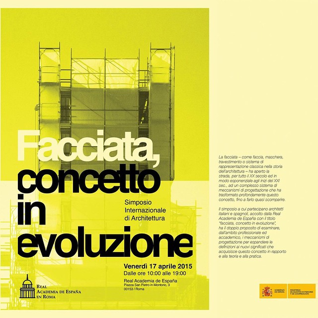 "Jesus Aparicio participles in the Simposio ""Facciata, concetto in evoluzione"" at Real Academia de España in Rome #architecture #conference #simposium #rome #roma #arquitectura #españa #spain #jesusaparicio"