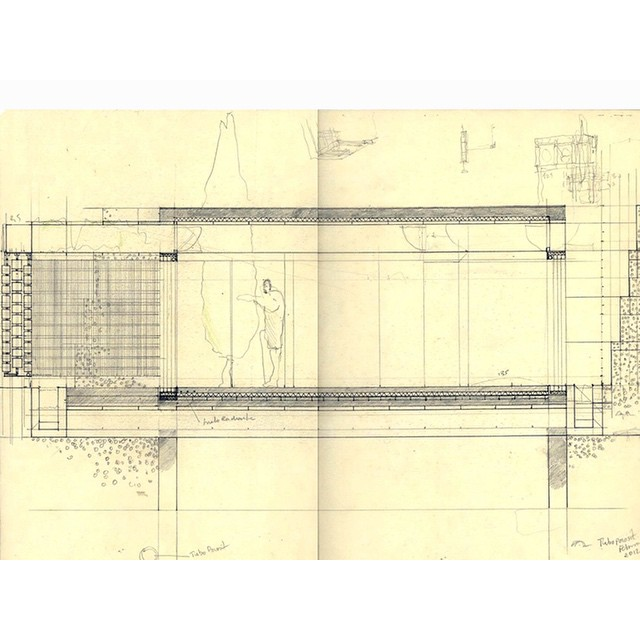 #jesusaparicio #cortijo in #andalusia #architecture #arquitectura #diseño #Design #drawing #process