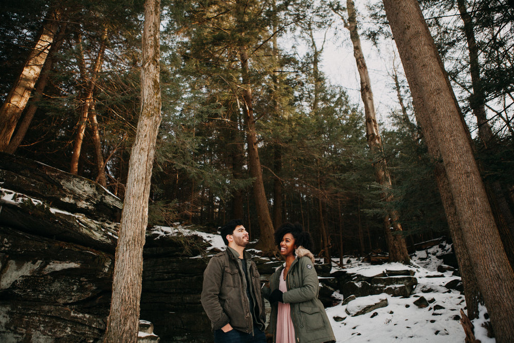 Bronson + Desirée - couples session // cuyahoga valley national park