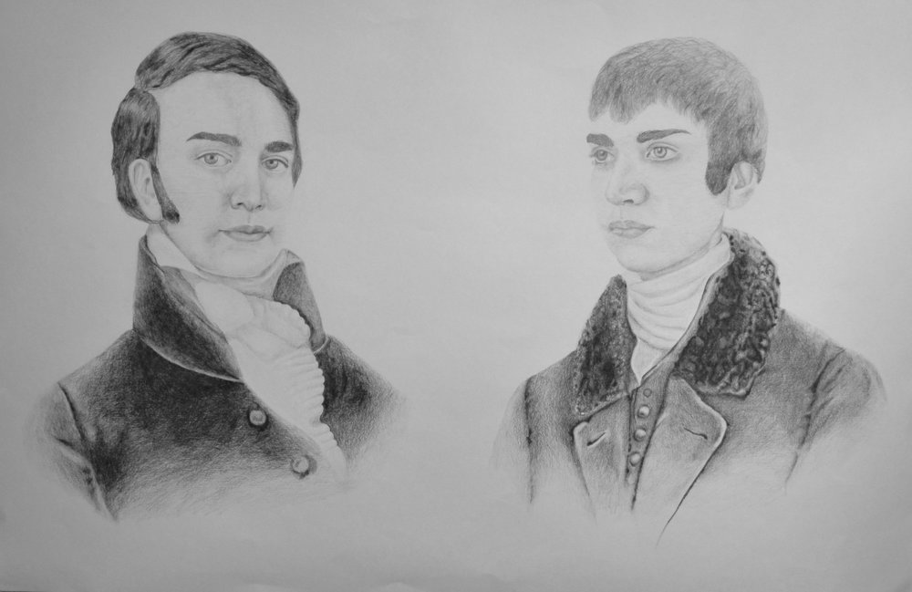 Self Portrait as Lewis and Clark, 2011