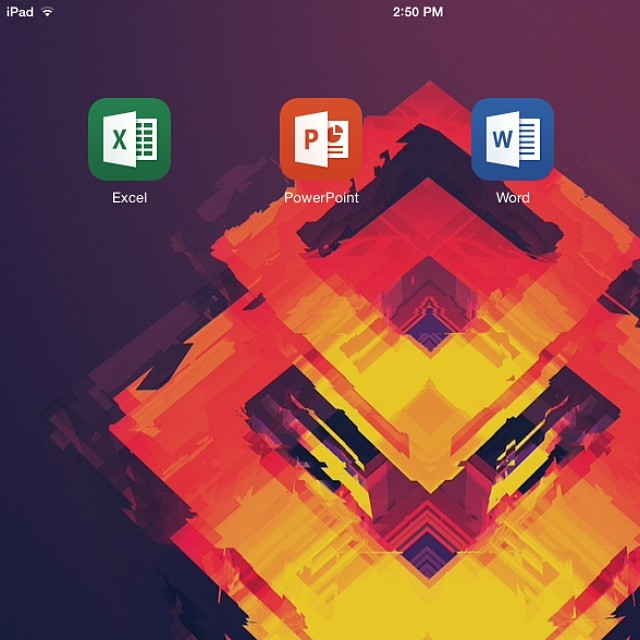 It's about time! #officeforipad