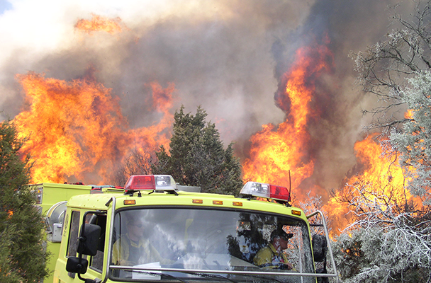 Interest in wildfire management program spreads like, well... -