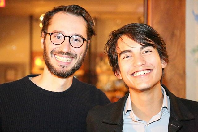 We are so happy that Matteo Bini and @rimaugrilloritzberger attended our festival! It was a success and we would like to thank everyone who made it possible. Our guests will be missed!