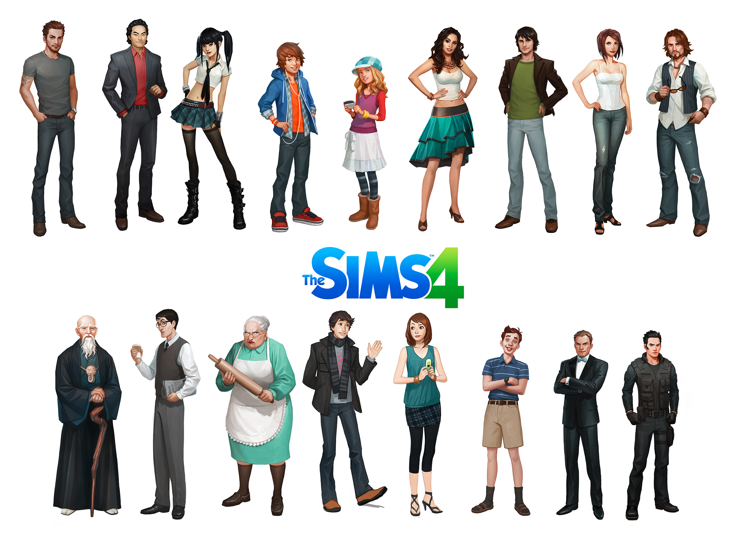 Sims 3 Cartoon Characters : Jason chan