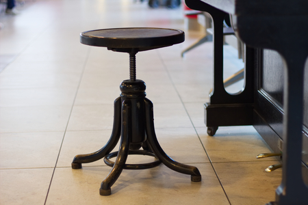 where is the best place for the piano stool?