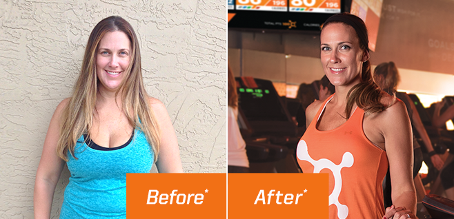 """I've gotten faster and stronger; I've lost over 50 pounds.""     -Lani T. OTF Member     *Results may vary from person to person"