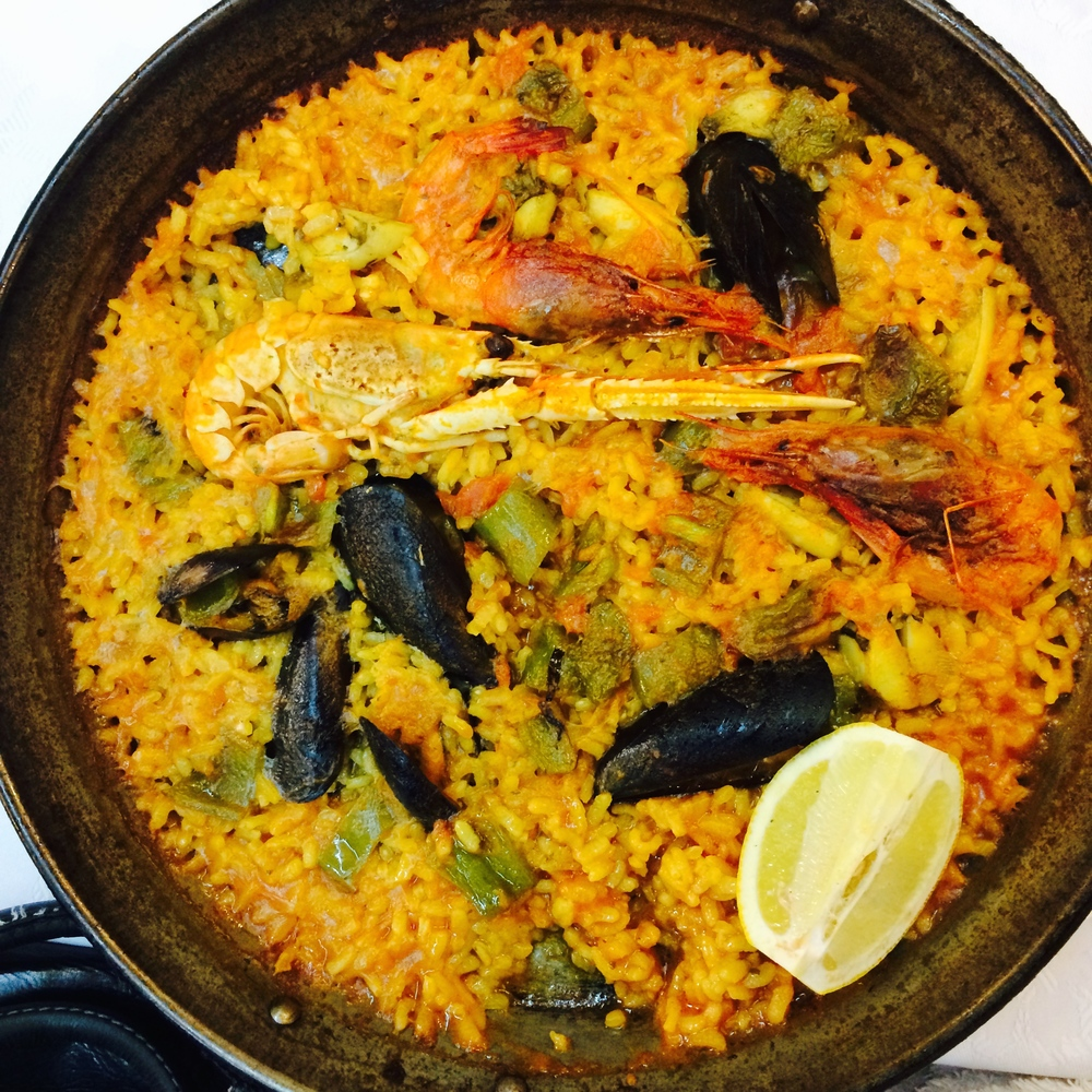 The best paella. Ever.