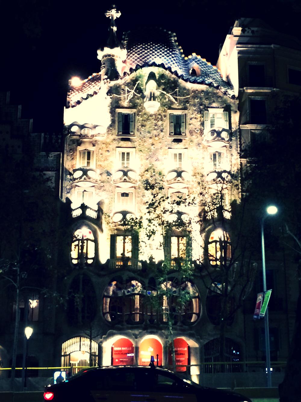 Landmark Casa de Battloby Gaudi.