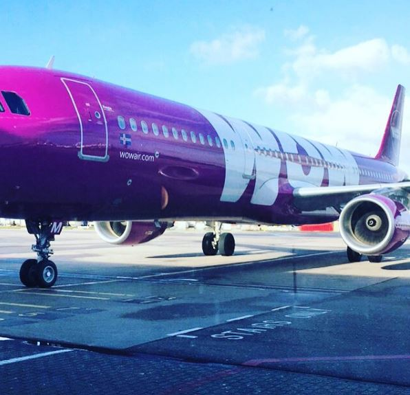 Getting on my WOW air flight!