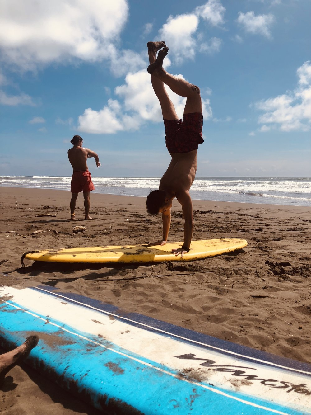 Pura Vida - Drew and Tyler are cousins and also enjoyed surfing at Playa Bejuco, goof thing Outsite had some boards on hand!