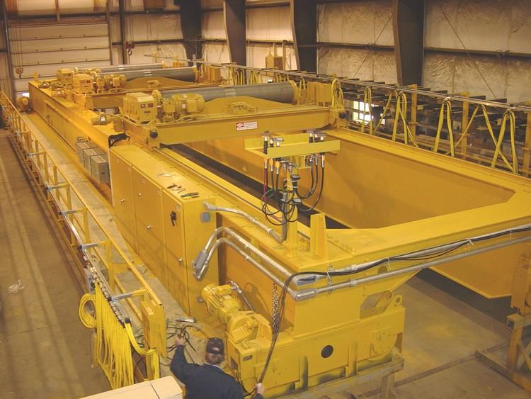 60 Ton TRDG Papermill Crane