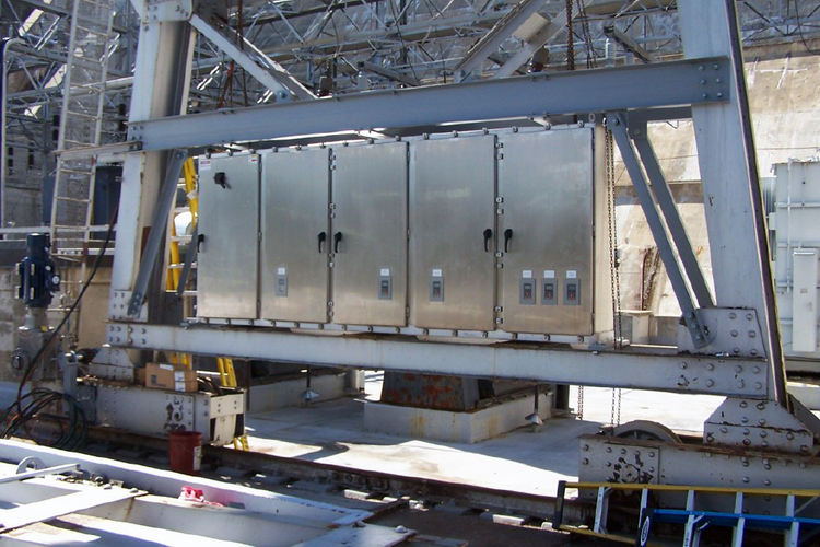 Modernization / Electrical Upgrade 120 Ton Outdoor Gantry