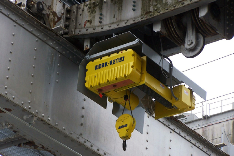 Auxiliary Hoist Added to Existing 60 Ton Hoist / Trolley