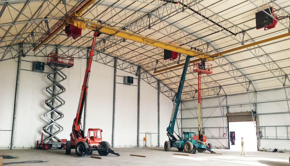 5 Ton Under Running Crane Install