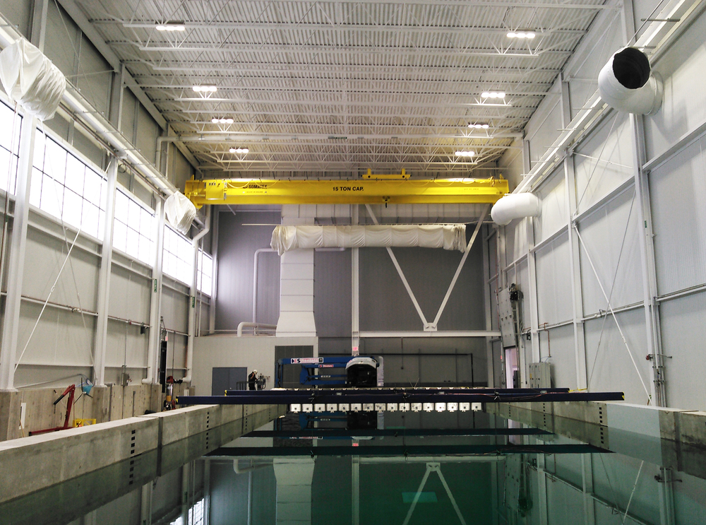 15 Ton TRDG Crane - Wind / Wave Facility