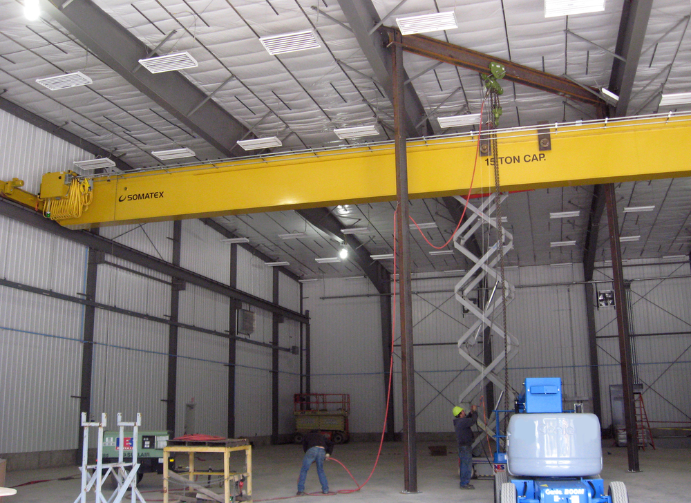 3. 15t Monobox Crane Installed