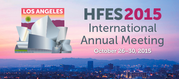 2015 meeting of the Human Factors and Ergonomics Society