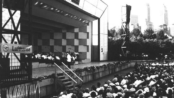 CCO 50th Anniversary Celebration performance at Petrillo Music Shell, Grant Park.