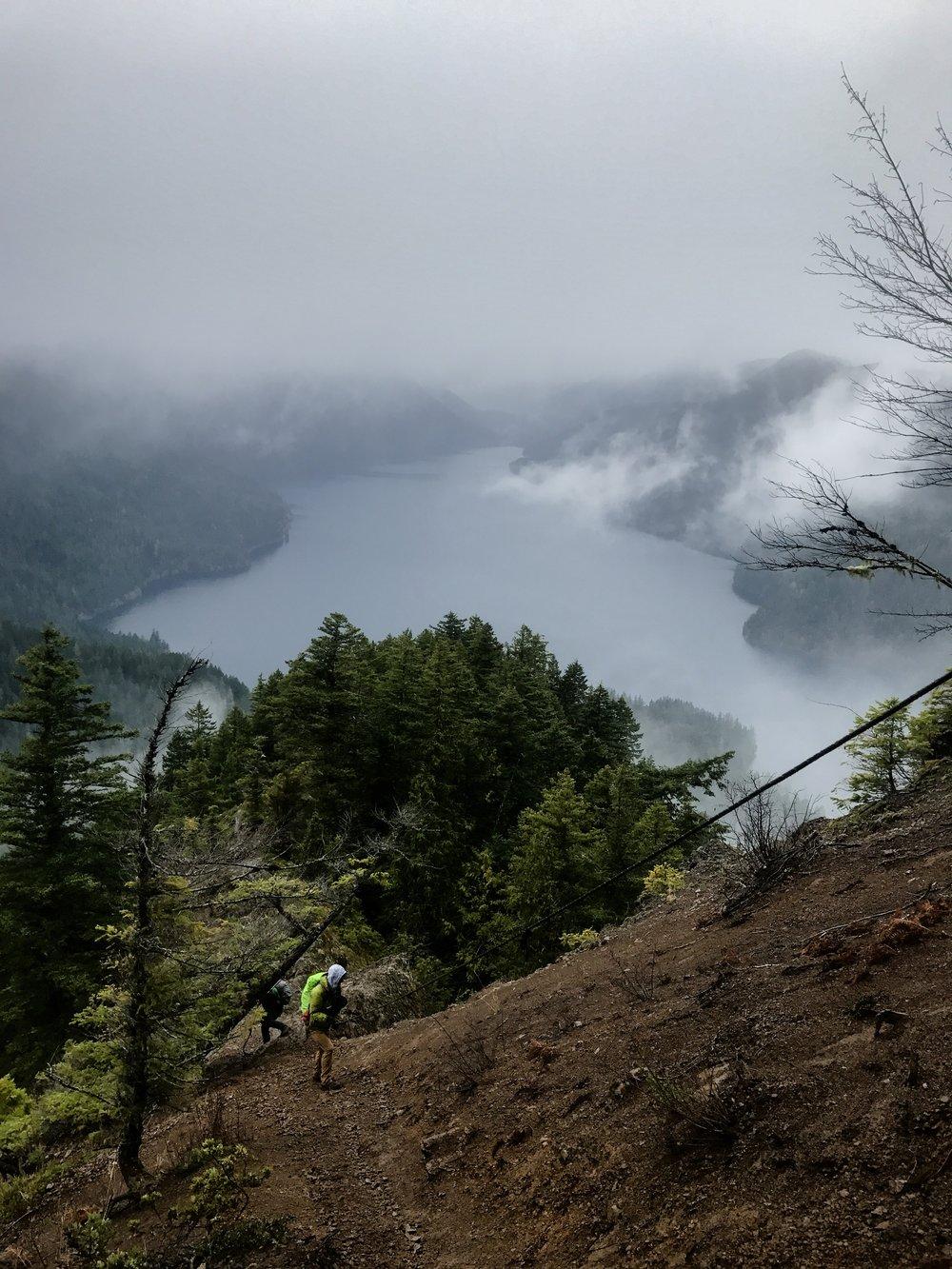 mount storm king hike olympic national park washington