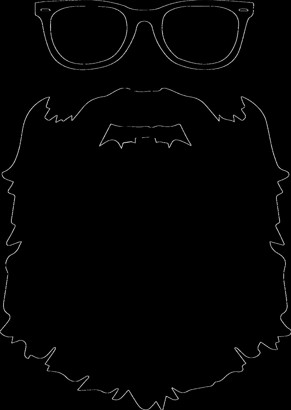 ryan villasanti beard logo