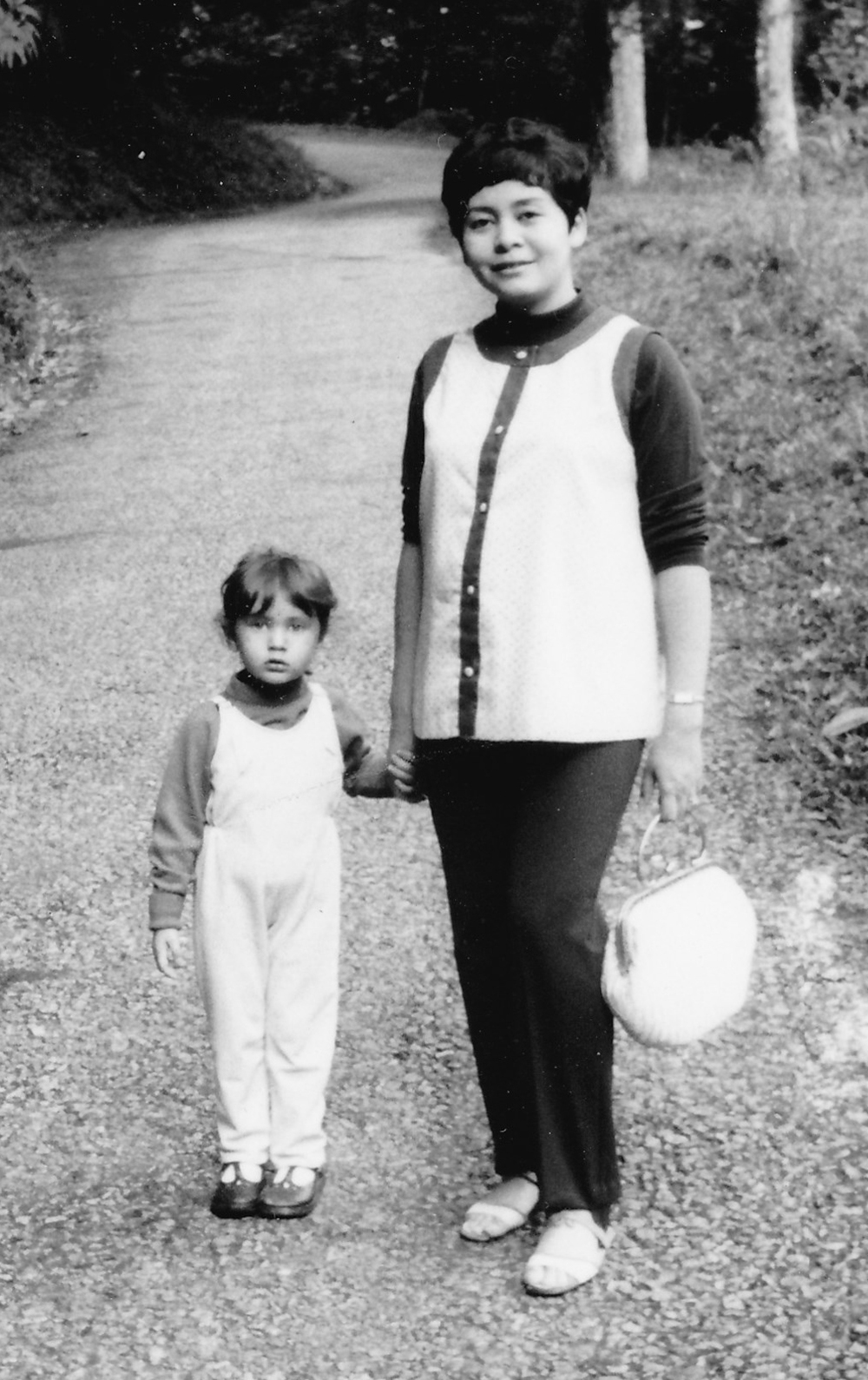 The author and her mother in Japan circa 1970
