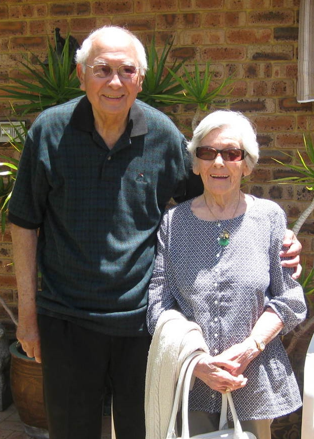 Jock and Ursula Oehlers in Perth