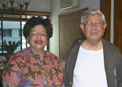 joe and Anita Conceicao in Singapore, 2010