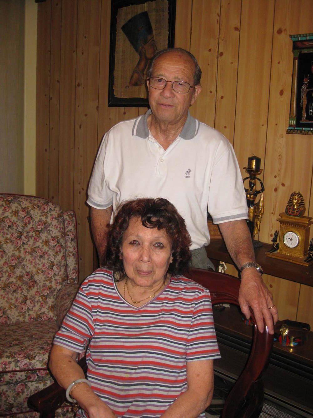 Arthur and Delia Nunes in Perth, Australia, 2009