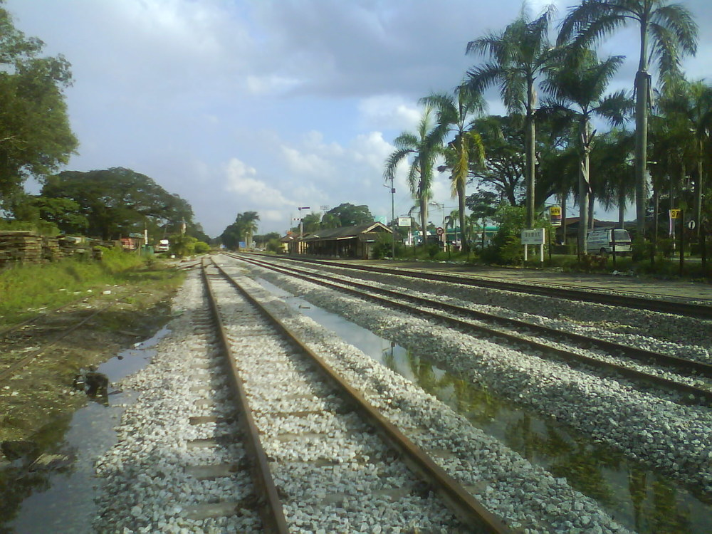 The Bahau station today