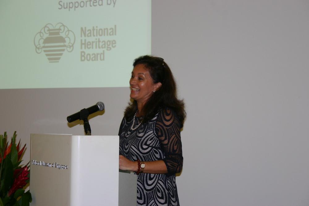 Fiona Hodgkins (Author) welcoming address